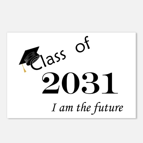 Born in 2013/Class of 2031 Postcards (Package of 8