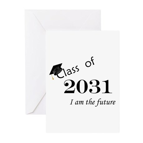 Born in 2013/Class of 2031 Greeting Cards (Pk of 1
