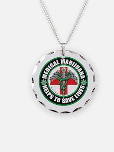 Medical-Marijuana-Helps-Saves-Lives.png Necklace