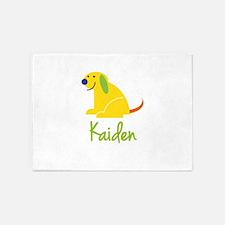 Kaiden Loves Puppies 5'x7'Area Rug