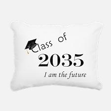 Born in 2013/Class of 2035 Rectangular Canvas Pill