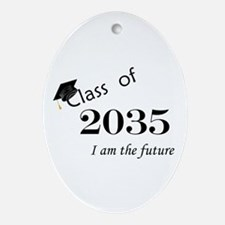 Born in 2013/Class of 2035 Ornament (Oval)