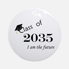 Born in 2013/Class of 2035 Ornament (Round)