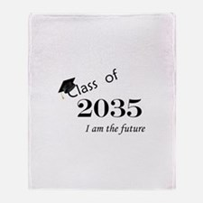 Born in 2013/Class of 2035 Throw Blanket