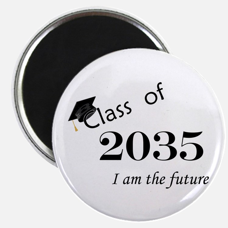 "Born in 2013/Class of 2035 2.25"" Magnet (100 pack)"
