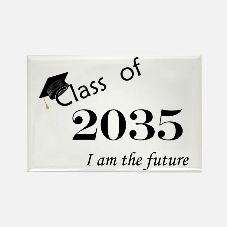 Born in 2013/Class of 2035 Rectangle Magnet (10 pa