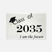 Born in 2013/Class of 2035 Rectangle Magnet (100 p