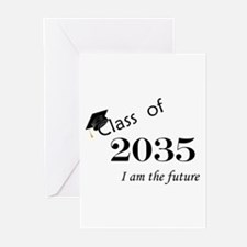 Born in 2013/Class of 2035 Greeting Cards (Pk of 1