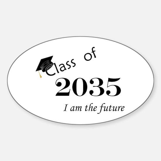 Born in 2013/Class of 2035 Sticker (Oval)