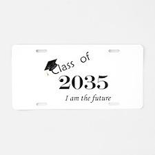 Born in 2013/Class of 2035 Aluminum License Plate