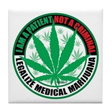 Patient-not-Criminal-2009.png Tile Coaster