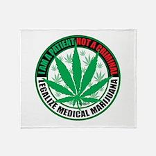 Patient-not-Criminal-2009.png Throw Blanket