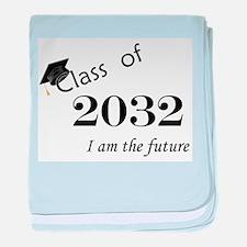 Born in 2014/Class of 2032 baby blanket