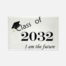 Born in 2014/Class of 2032 Rectangle Magnet (100 p