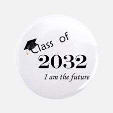 "Born in 2014/Class of 2032 3.5"" Button"