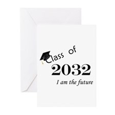 Born in 2014/Class of 2032 Greeting Cards (Pk of 1
