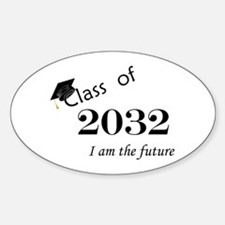 Born in 2014/Class of 2032 Sticker (Oval)