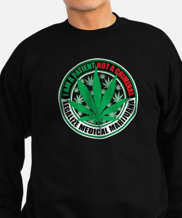 Patient-not-Criminal-2009.png Sweatshirt