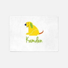 Kamden Loves Puppies 5'x7'Area Rug