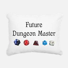 Future Dungeon Master Rectangular Canvas Pillow