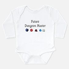 Future Dungeon Master Long Sleeve Infant Bodysuit