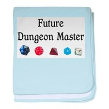 Future Dungeon Master baby blanket