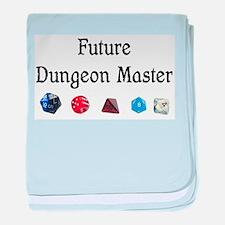 Future Dungeon Master baby blanket