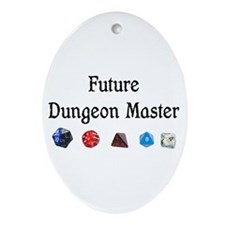 Future Dungeon Master Ornament (Oval)