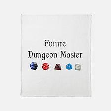 Future Dungeon Master Throw Blanket
