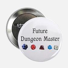 """Future Dungeon Master 2.25"""" Button"""