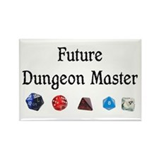 Future Dungeon Master Rectangle Magnet