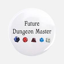 """Future Dungeon Master 3.5"""" Button"""