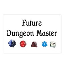 Future Dungeon Master Postcards (Package of 8)