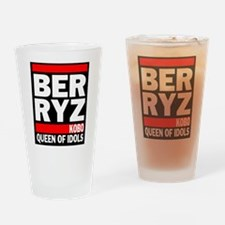 Berryz logo Drinking Glass