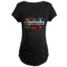 creativity Maternity T-Shirt