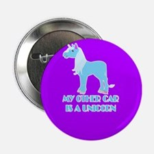 "my other car is a unicorn 2.25"" Button"