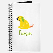 Karson Loves Puppies Journal