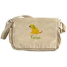 Karson Loves Puppies Messenger Bag