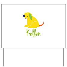 Kellen Loves Puppies Yard Sign