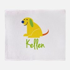 Kellen Loves Puppies Throw Blanket