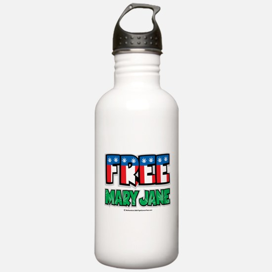 Free-Mary-Jane-2.png Water Bottle