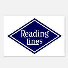 Reading Lines Postcards (Package of 8)