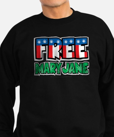 Free-Mary-Jane-2.png Sweatshirt