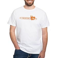 size matters chainsaw orange T-Shirt
