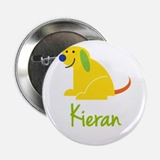 "Kieran Loves Puppies 2.25"" Button"