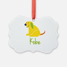 Kobe Loves Puppies Ornament