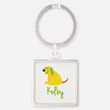 Kolby Loves Puppies Keychains