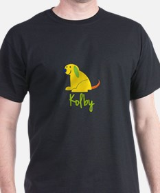Kolby Loves Puppies T-Shirt