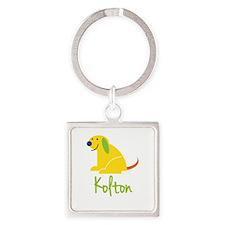 Kolton Loves Puppies Keychains