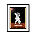 Tango Muerto Style Framed Panel Print